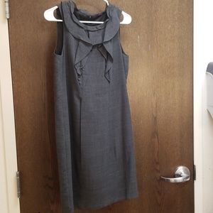 Elie Tahari grey sleeveless dress